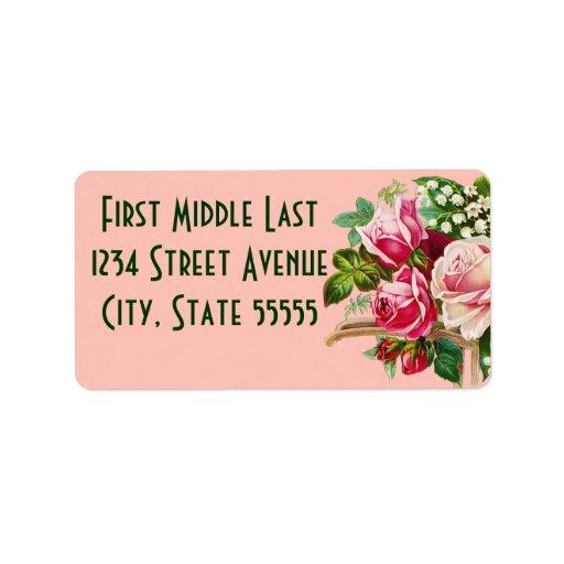 Bouquet Address Labels