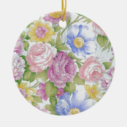 Bouquet Ceramic Ornament