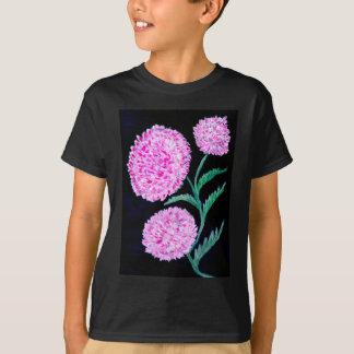 Bouquet d'art de fleurs t-shirt