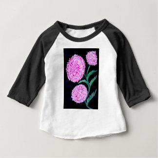 Bouquet d'art de fleurs t-shirt pour bébé