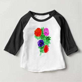 Bouquet des fleurs Art2 T-shirt Pour Bébé
