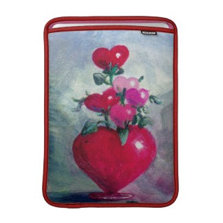 Bouquet From the Heart MacBook Air Sleeve
