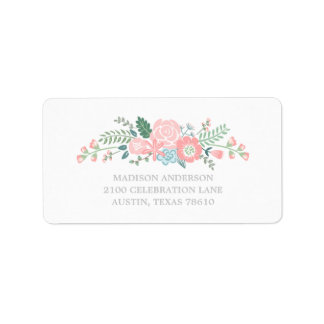 Bouquet | Graduation Address Label