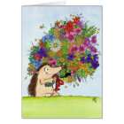 BOUQUET greeting card by Nicole Janes