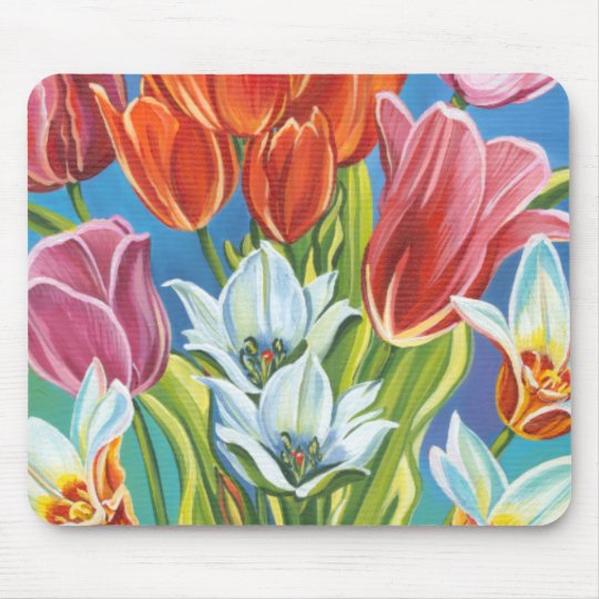 Bouquet in Border III Mouse Pad