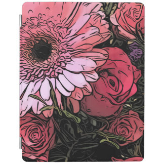Bouquet iPad cover