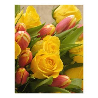 bouquet letterhead