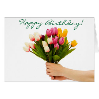 Bouquet of Birthday Wishes Birthday Card