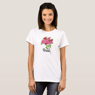 Bouquet of Bridal Roses T-Shirt