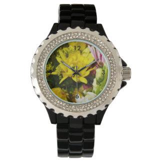 Bouquet Of Cheer Painterly Wristwatch