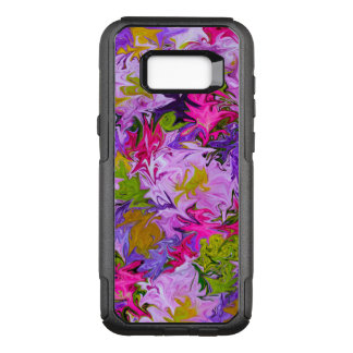 Bouquet of Colors Floral Abstract Art Design OtterBox Commuter Samsung Galaxy S8+ Case