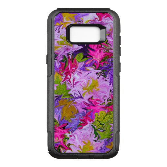 Bouquet of Colours Floral Abstract Art Design OtterBox Commuter Samsung Galaxy S8+ Case