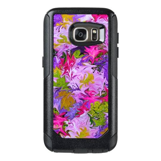 Bouquet of Colours Floral Abstract Art Design OtterBox Samsung Galaxy S7 Case