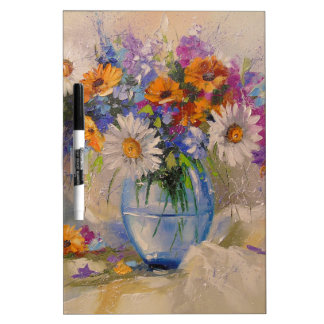 Bouquet of field dry erase board