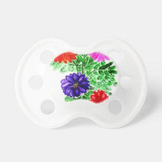 Bouquet of Flowers Art2 Pacifier