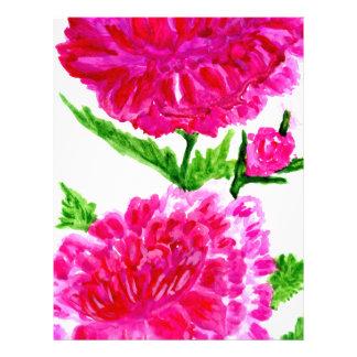 Bouquet of Flowers Art5 Letterhead