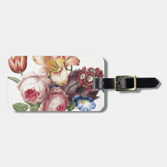 Bouquet of Flowers Bag Tag