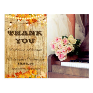 bouquet of flowers,bride and piano postcard