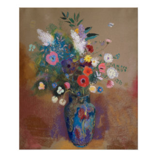 Bouquet of Flowers by Redon Poster