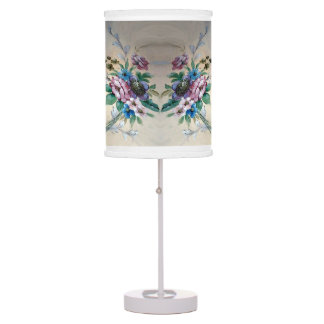 Bouquet of Flowers Chic Table Lamp