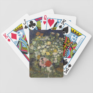 Bouquet of Flowers in a Vase Bicycle Playing Cards