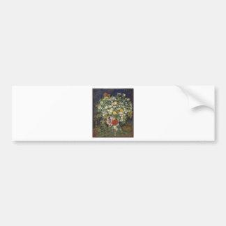 Bouquet of Flowers in a Vase Bumper Sticker