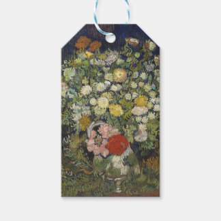 Bouquet of Flowers in a Vase Gift Tags