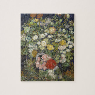Bouquet of Flowers in a Vase Jigsaw Puzzle