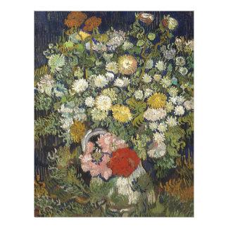 Bouquet of Flowers in a Vase Letterhead