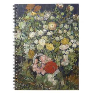 Bouquet of Flowers in a Vase Notebook