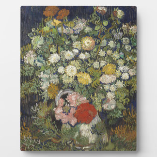 Bouquet of Flowers in a Vase Plaque