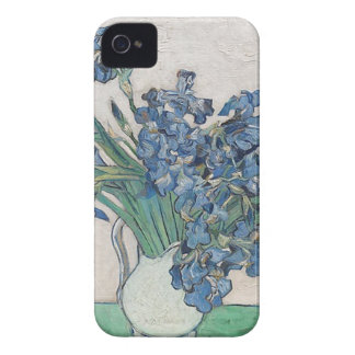 Bouquet of Flowers in Blue Shade iPhone 4 Cases