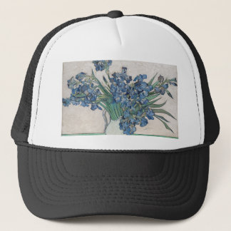 Bouquet of Flowers in Blue Shade Trucker Hat