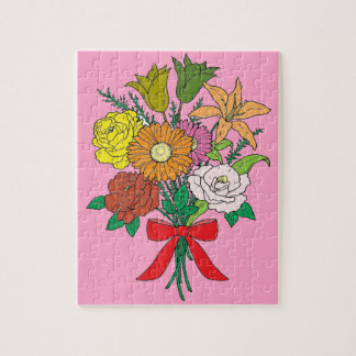 Bouquet of Flowers Jigsaw Puzzle