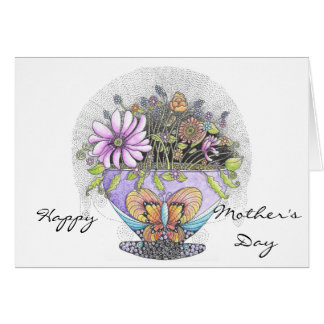 Bouquet of Flowers Mother's Day Card