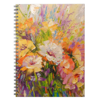 Bouquet of flowers notebook