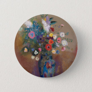 Bouquet of Flowers - Odilon Redon 2 Inch Round Button