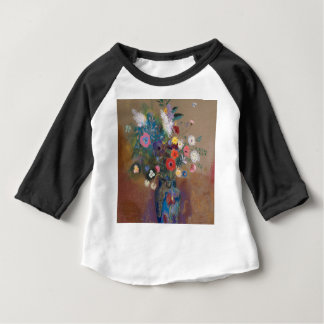 Bouquet of Flowers - Odilon Redon Baby T-Shirt