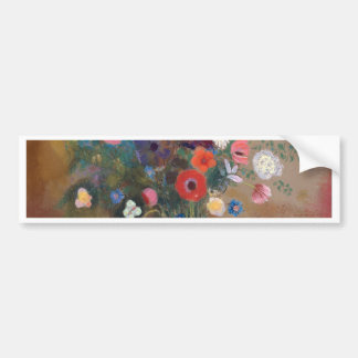 Bouquet of Flowers - Odilon Redon Bumper Sticker