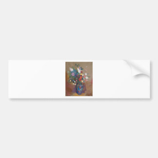 Bouquet of Flowers - Odilon Redon Bumper Sticker