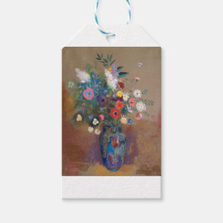 Bouquet of Flowers - Odilon Redon Gift Tags