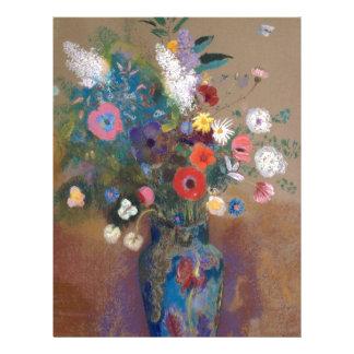 Bouquet of Flowers - Odilon Redon Letterhead