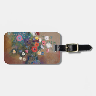 Bouquet of Flowers - Odilon Redon Luggage Tag