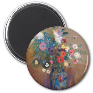 Bouquet of Flowers - Odilon Redon Magnet