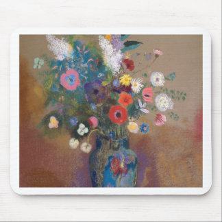 Bouquet of Flowers - Odilon Redon Mouse Pad