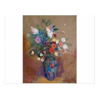 Bouquet of Flowers - Odilon Redon Postcard