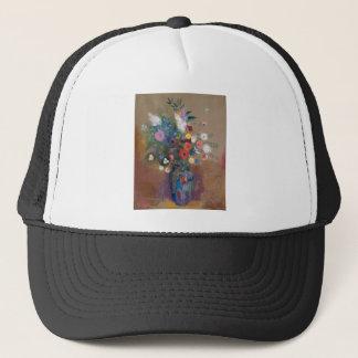 Bouquet of Flowers - Odilon Redon Trucker Hat