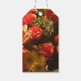 Bouquet of Flowers Pack Of Gift Tags