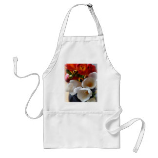 bouquet of freesias standard apron
