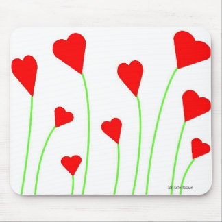 Bouquet of Hearts Mousepad